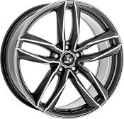 Ultra Wheels UA6 Gunmetal polished