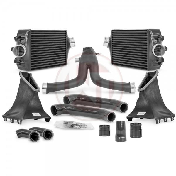 Wagner Tuning Comp. Paket Porsche 991 Turbo(S) Ladeluftkühler Kit / Y-Rohr