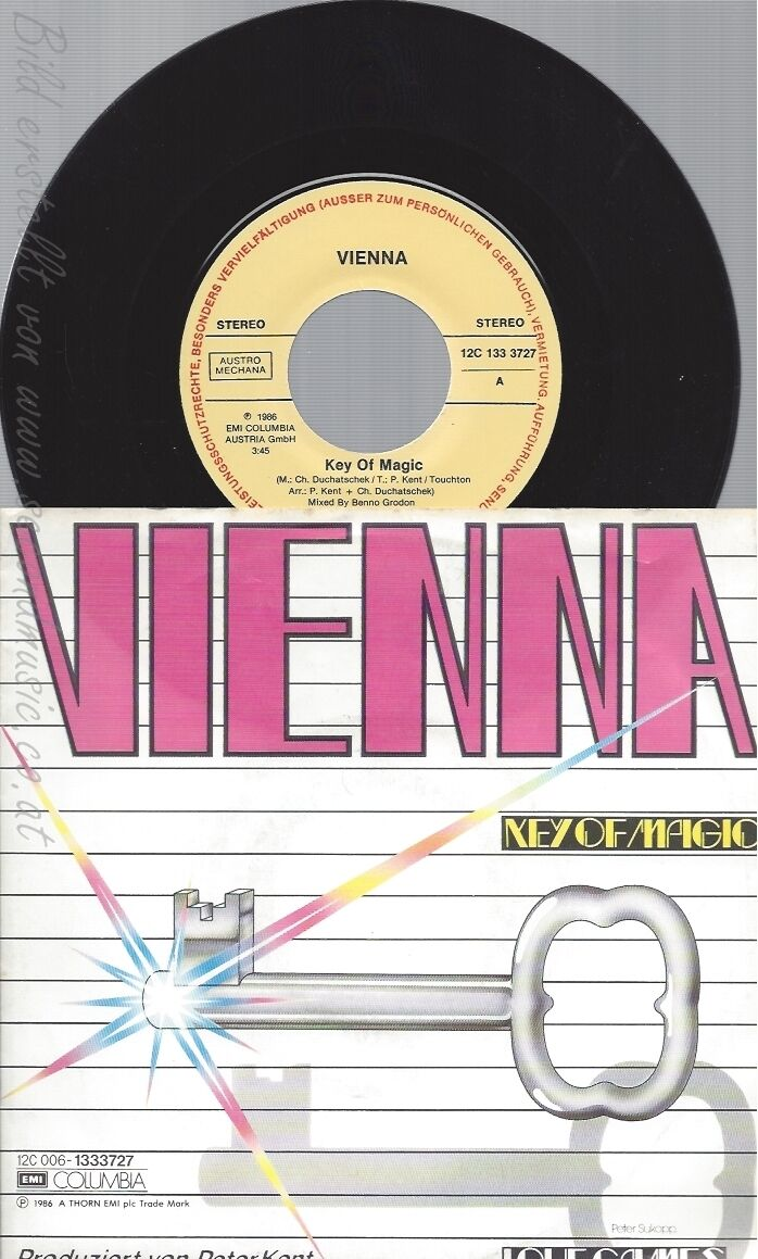 "7"" VIENNA — KEY OF MAGIC-"