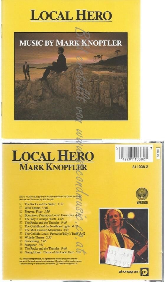CD–OST UND MARK KNOPFLER — — LOCAL HERO