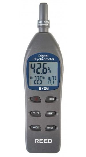 8706 - Feuchtigkeit- und Temperaturmessgerät